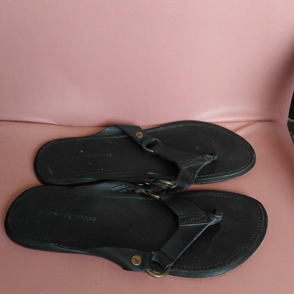 ee01455de Armani Exchange Other - Armani Exchange 10 men s sandals black leather